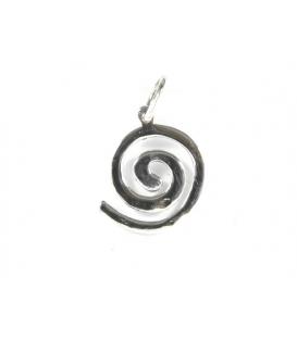 Colgante Plata Espiral 2,10cm