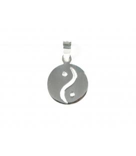 Colgante Plata Yin Yang 1,90cm