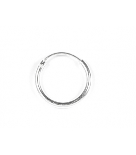 Aro Plata Liso 16 X 2mm Precio Par