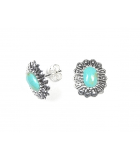 Boucles d'oreilles Turquoise