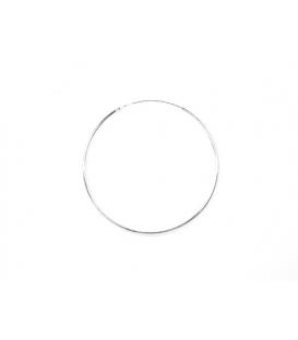 Aro Plata Liso 50 X 1.5mm Precio Par