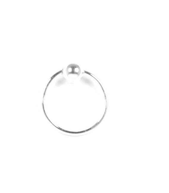 Aro Piercing 10 X 1mm Bola 3mm