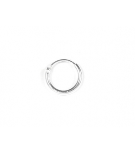 Aro Plata Liso 10 X 1.5mm Precio Par