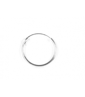 Aro Plata Liso 16 X 1.5mm Precio Par