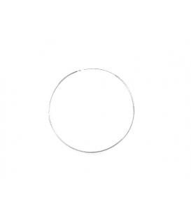 Aro Plata Liso 45 X 1.2mm Precio Par
