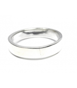 Bague Alliance 4mm Plate