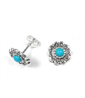Boucles d'oreilles Turquoise 591