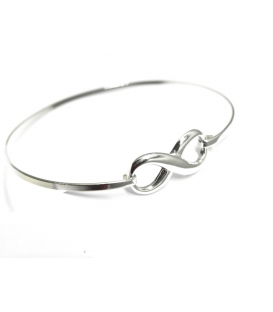 Bracelet Rigide Infini