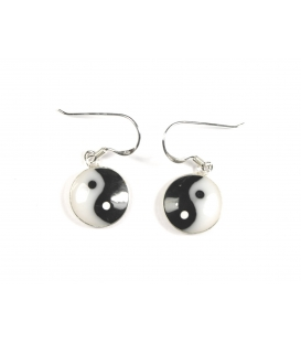 Boucles d'oreilles Yin Yang
