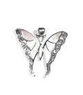 Pendentif Papillon 3,50cm Nacre