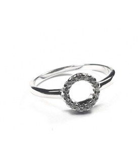 Bague Zirconiums 45