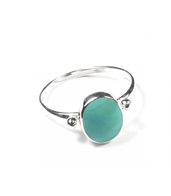 Bague Turquoise 49