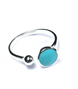 Bague Turquoise 50