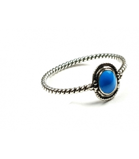 Bague Turquoise 52