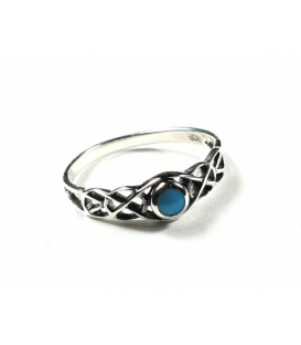 Bague Turquoise 54