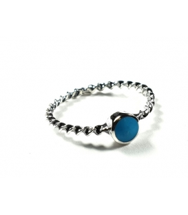 Bague Turquoise 55