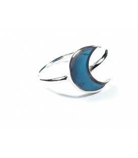 Bague Lune Turquoise