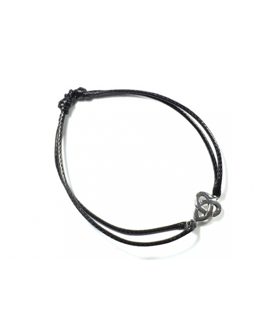 Bracelet Cordon Triskèle