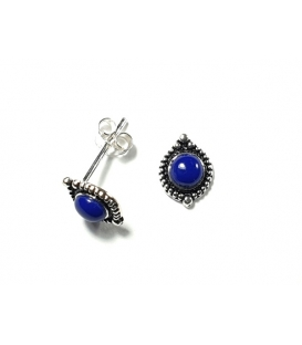 Boucles d'oreilles lapis-lazuli 15