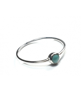 Bague Turquoise 57