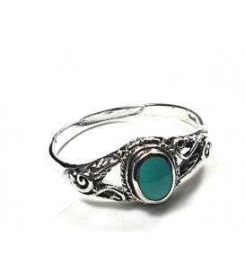 Bague Turquoise 58