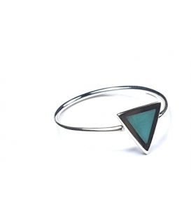 Bague Triangle Turquoise