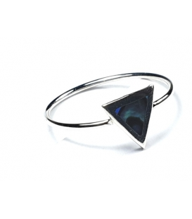 Bague Triangle Abalone
