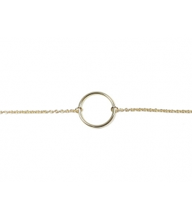 Bracelet Cercle 16+3cm Recouvert