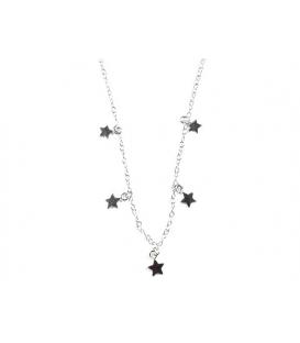 Collier Étoiles 40+5cm