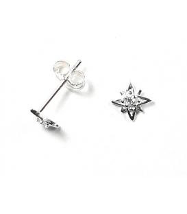 Boucles d'oreilles Étoile 14