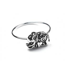 Anillo Plata Elefante 550