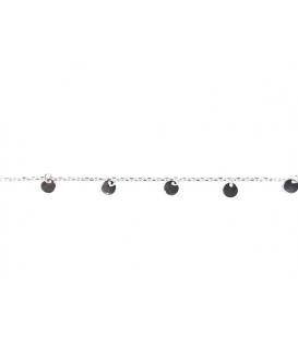 Bracelet 8 Plaques 15,5+3cm