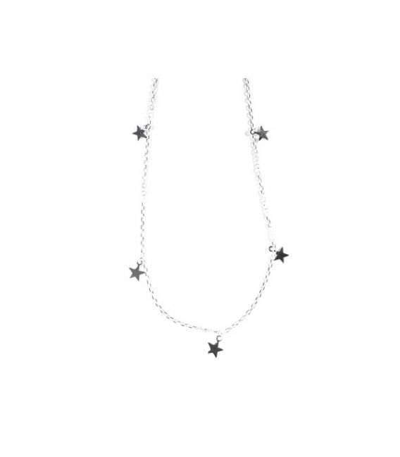 Collier 9 Étoiles 40+3,50cm