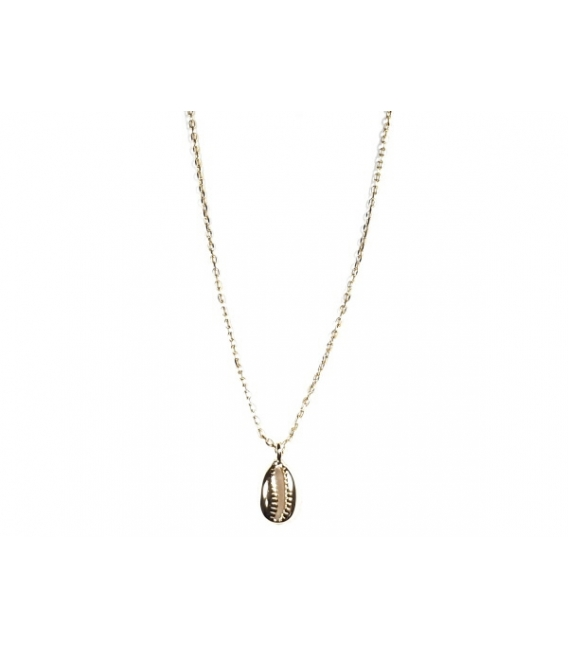 Collier Coquille 40+3cm Recouvert