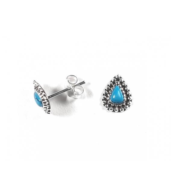 Boucles d'oreilles Turquoise 201