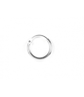 Aro Plata Liso 10 X 2mm Precio Par