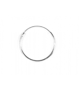 Aro Plata Liso 16 X 1.2mm Precio Par